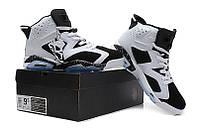 Баскетбольные кроссовки Nike Air Jordan 6 white-black