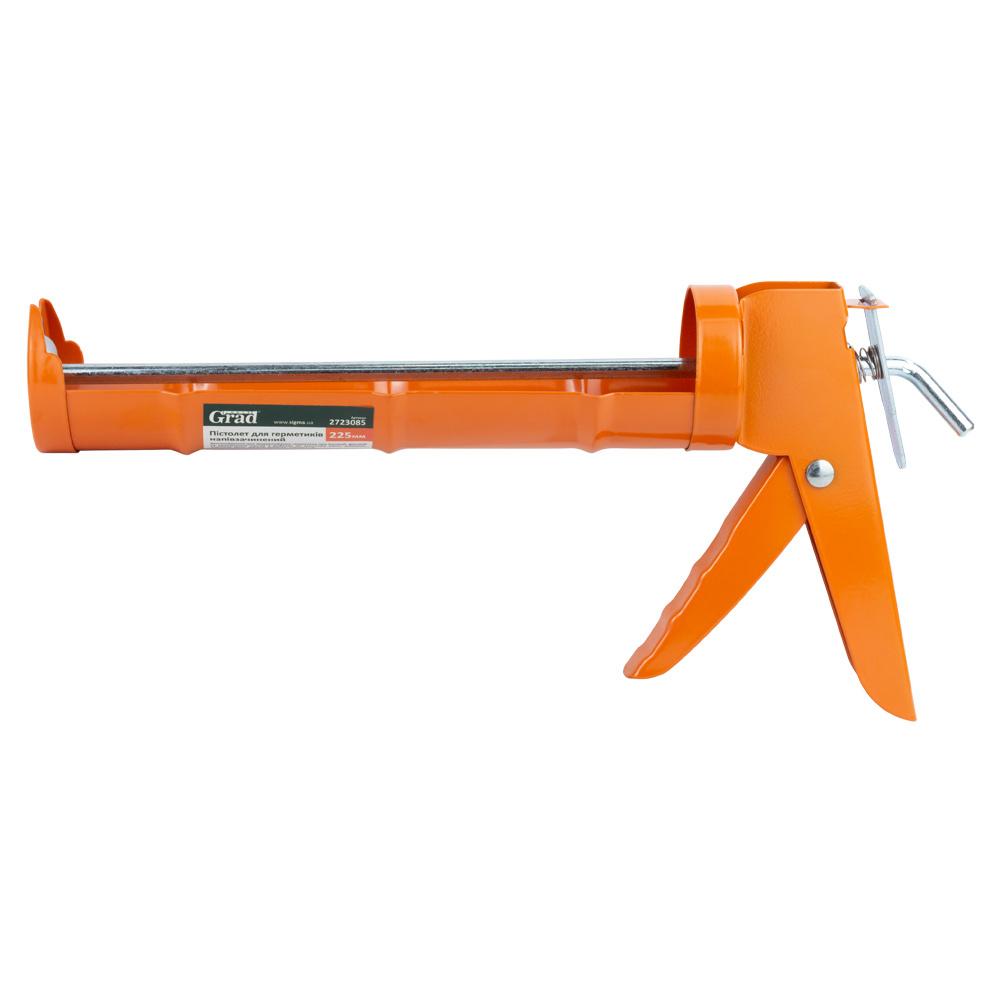Пистолет для герметиков Grad 225мм (полузакрытый)