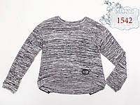 Кофта MONE 128,146,152 см Серый (1542)