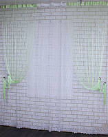 "Декоративный комплект комбинация со шторами-нитями ""Кисея"" 3,мх2,5м. Код 029дк (109-033) е809"