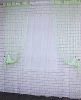 "Декоративный комплект комбинация со шторами-нитями ""Кисея"" 3,0мх2,5м. Код 029дк (160-033) е810"