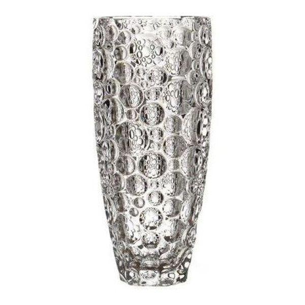 Ваза для цветов Bohemia Lisboa 350мл богемское стекло, Ваза из хрустали, Хрустальная ваза для цветов 35 см