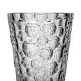 Ваза для цветов Bohemia Lisboa 350мл богемское стекло, Ваза из хрустали, Хрустальная ваза для цветов 35 см, фото 3