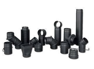 Дымоходные трубы черные