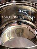 Набір каструль з нержавіючої сталі German Family GF-2027 Каструлі з кришками Набір кухонного посуду, фото 7