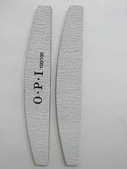 Пилочка для ногтей O.P.I. полировочная на мягкой основе № 100/100