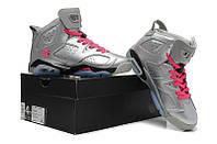 Женские баскетбольные кроссовки Nike Air Jordan 6 silver