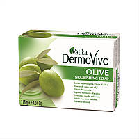 Мыло оливковое Dabur Vatika DERMOVIVA 115 г