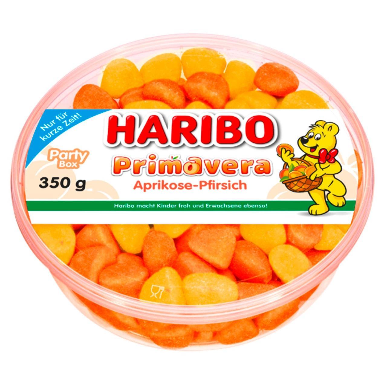 Haribo Primavera Aprikosw Pfirsich 350 g