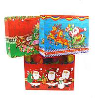 Пакет подарочный Дед Мороз 12 шт. в 1 упаковке
