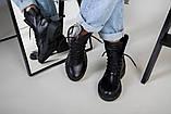 Ботинки женские кожаные черные зимние, фото 2