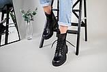 Ботинки женские кожаные черные зимние, фото 7