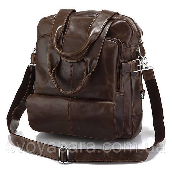 Сумка рюкзак кожаная 14150