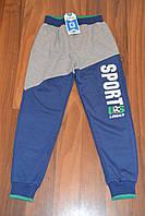Штаны трикотажные спортивные для мальчиков,размеры 116-146 см.Фирма GRACE Венгрия, фото 1