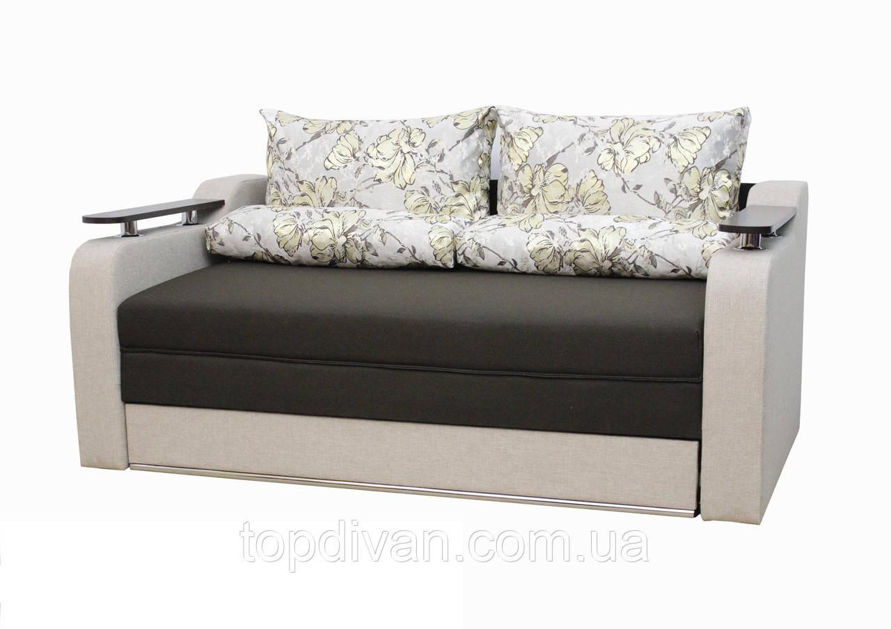 """Диван """"Лоренцо"""". (тканина 2) Габарити: 1,90 х 1,05 Спальне місце: 1,90 х 1,60"""