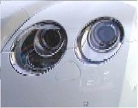 Хромированная маска фар головного света Bentley