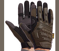 Перчатки Тактические MECHANIX Оливковые размер L