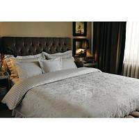 Комплект постельного белья Valeron сатин 200х220 Doreen v02 серый (8696048166734)