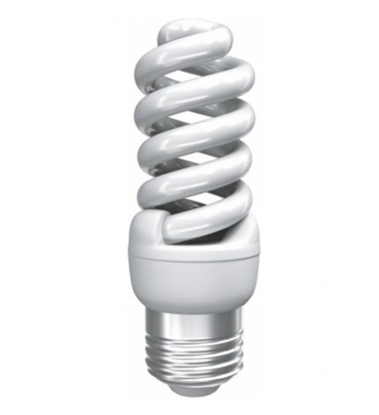 Лампа энергосберегающая T2 Mini spiral ROI 201-E27-9Вт (2700K)