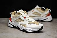 Оригиналы мужские кроссовки Nike Monarch, бело телесные, повседневные найк монарх