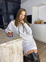 Жіноче плаття-худі з капюшоном Oversize, фото 1