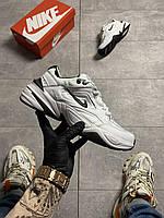 Оригиналы мужские кроссовки Nike Monarch, бело черные, повседневные найк монарх