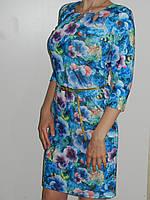Красивое платье с цветочным принтом из вискозы Exclusive 50085641 рр. M, L