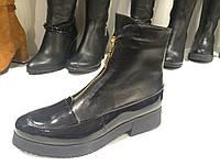 Кожаные ботинки (демисезонные)