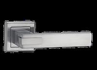 Дверная ручка на розетке MVM Z-1320 МС (матовый хром)