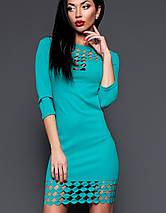 Платье-туника с перфорацией | Анит jd, фото 2