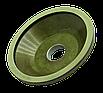 Круг алмазний для заточування 12А2-45 75х3х6х26х20 80/63 АС4 Стандарт шліфувальний чашка, фото 2