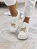 Білі кросівки, розмір 36