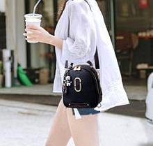 Жіночий міні рюкзак сумочка 2 в 1