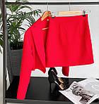 Жіночий костюм, костюмка, р-р 42-44; 44-46 (беж), фото 4