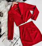 Жіночий костюм, костюмка, р-р 42-44; 44-46 (беж), фото 2