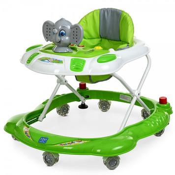 Ходунки каталка на семи поворотных колесах для ребенка Ходунки детские музыкальные
