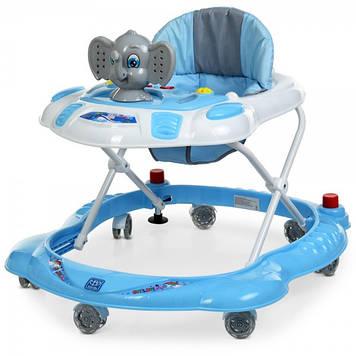 Ходунки каталка с звуковыми и световыми эффектами для ребенка Ходунки для мальчика