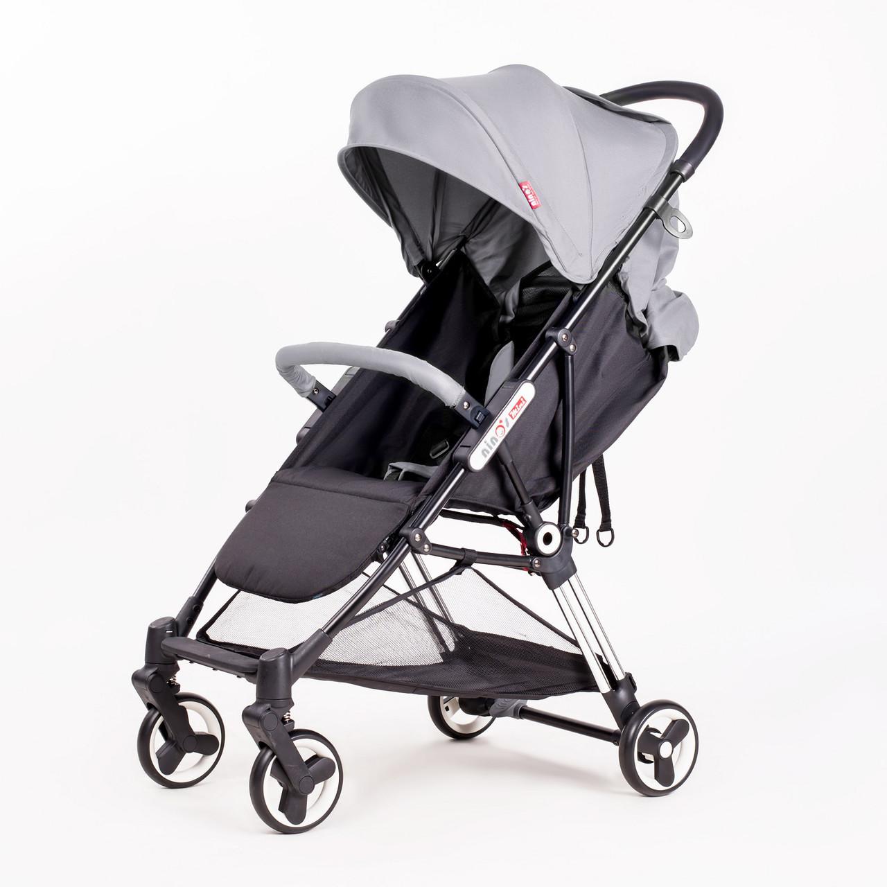 Детская прогулочная коляска Ninos Mini Grey 5,8 кг