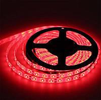 Светодиодная лента Lemanso  без силик. 3528 LM 362 красная