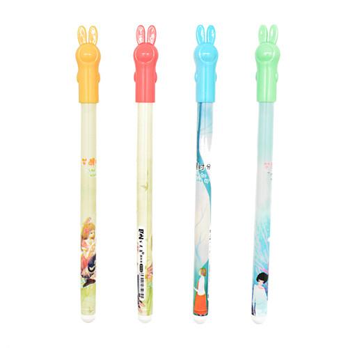 Ручка шарик Зайчик синяя ST00930