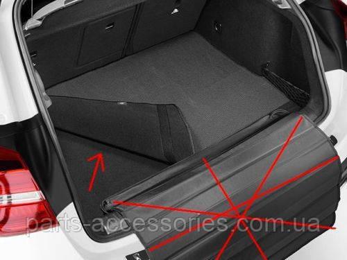 Mercedes GLA Class X156 коврик в багажник новый оригинальный 2014-2016