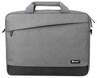 """Сумка из плотной практичной ткани для ноутбука 16"""" X-DIGITAL PALERMO 216 GRAY, 6253596"""