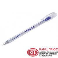 Delta Ручка гелевая. Цвета - синяя, черная  (12) арт.DG2020