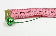Шарик в блеске декоративный на ножке