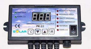 Контроллер для твердотопливного котла Nowosolar PK-22 +NWS 100