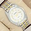 Повседневные наручные часы Seiko Classic Steel Silver/White/Gold 1033-0008