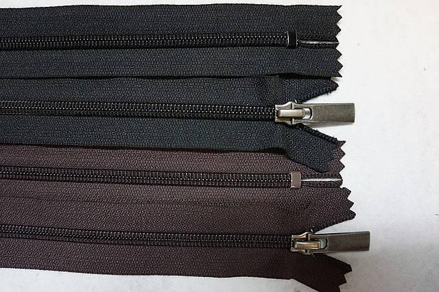 Молния для обуви пластик YKK 20 cм. чер., фото 2