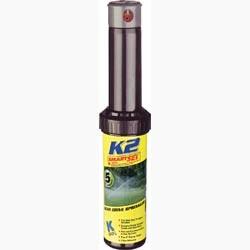 """Дождеватель роторный K RAIN - К 2 5"""" (12,5 см), 30 - 360°, 10 – 16.8м, в комплекте 13 насадок"""