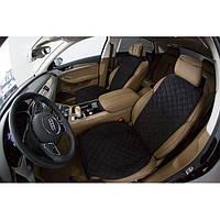 Накидки Чехлы на Передние Сидения автомобиля из алькантары (Эко-замша) PREMIUM