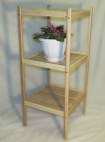 Этажерка для цветов из массива БУКА